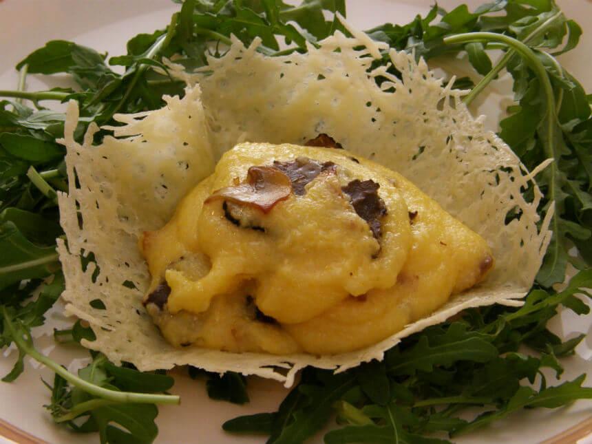 Palenta s tartufima i šampinjonima - Fini Recepti