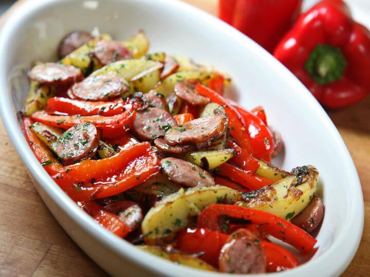 Paprike s kobasicama i krumpirom - Fini Recepti by Crochef