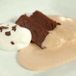 Parfe od kestena s čokoladnom pjenom