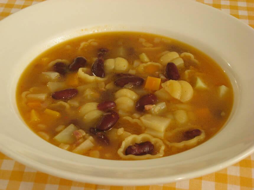 Pašta fažol na talijanski način - Fini Recepti