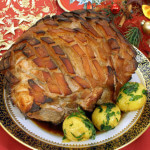 Pečena svinjska plećka