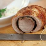 Pečena svinjska rolada
