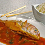 Riba u woku na pikantan način