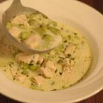 Krem juha s bobom i piletinom
