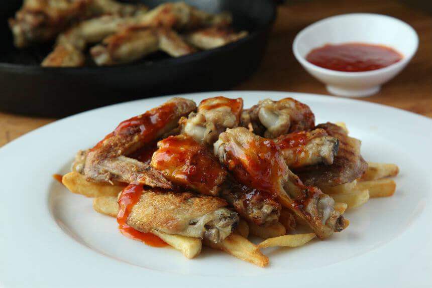 Pileća krilca s grila u pikantnom umaku - Fini Recepti by Crochef