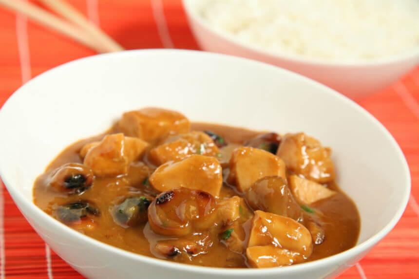 Pileći curry s kestenima - Fini Recepti by Crochef