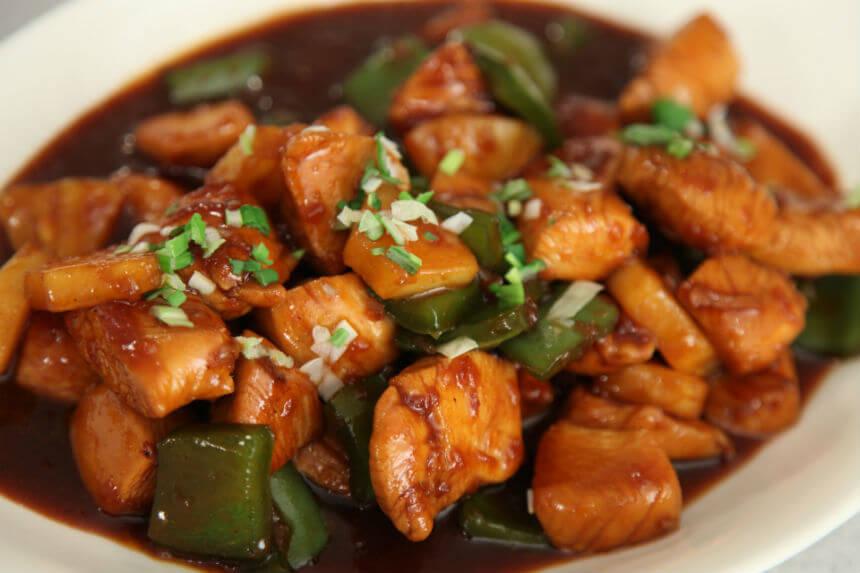 Piletina iz woka na slatko kiseli način - Fini Recepti by Crochef