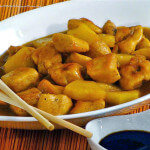 Piletina s medom i ananasom