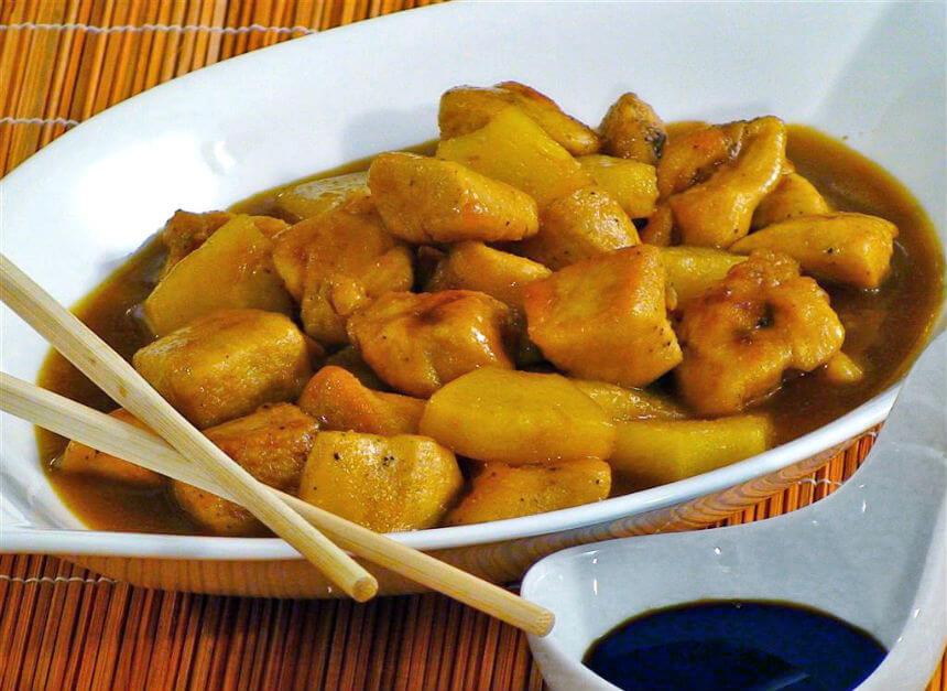 Piletina s medom i ananasom - Fini Recepti