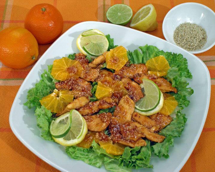 Salata s piletinom i narančom - Fini Recepti