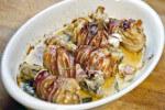 Pileći bataci sa senfom i pancetom