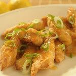 Hrskava piletina s umakom od limuna