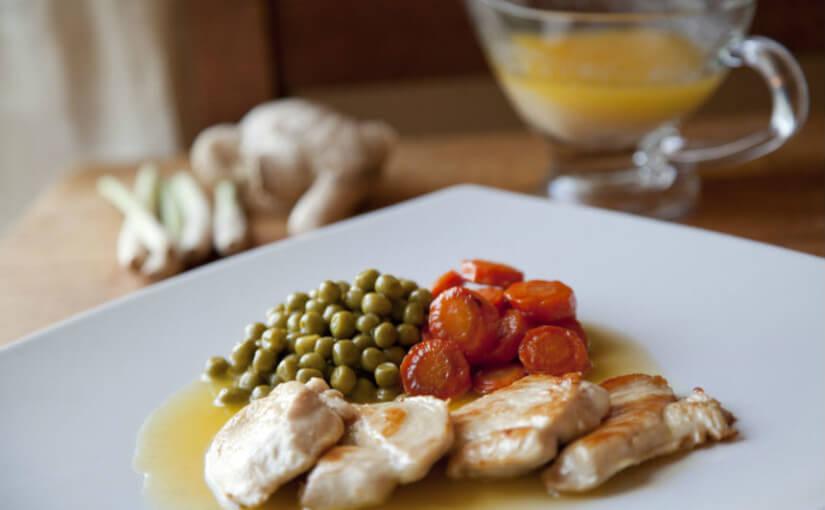 Piletina s umakom od đumbira i limunske trave