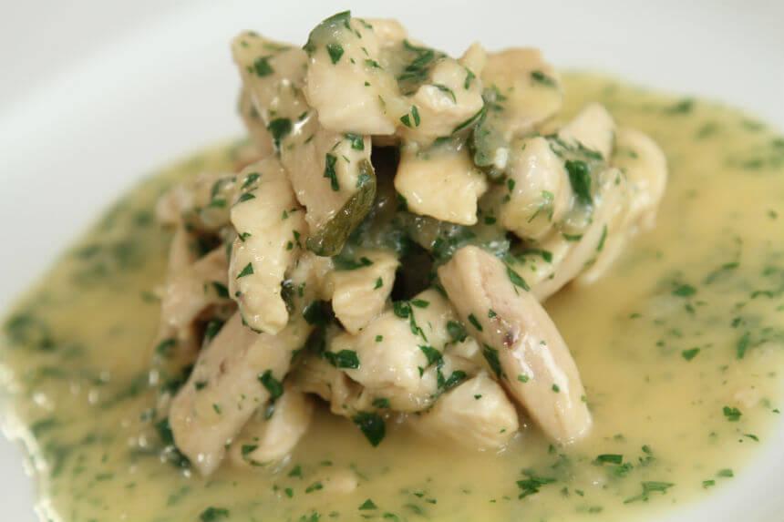 Piletina u umaku od prošeka i kadulje - Fini Recepti by Crochef