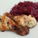 Pirjani crveni kupus s piletinom iz pećnice - Fini Recepti by Crochef