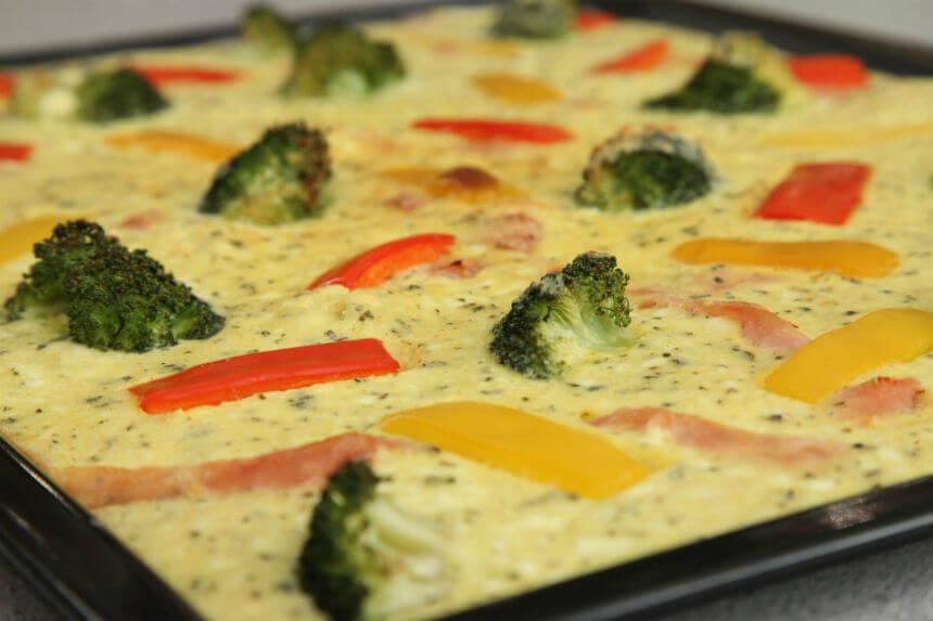 Pita s povrćem i kravljim sirom - Fini Recepti by Crochef