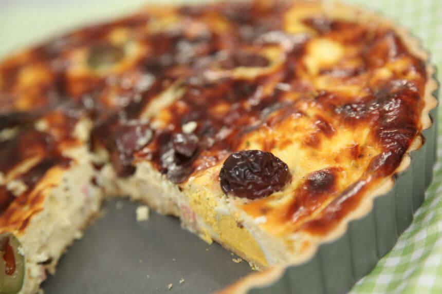 Pita sa sirom, mortadelom i tvrdo kuhanim jajima - Fini Recepti by Crochef