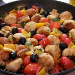 Polpete od puretine s povrćem