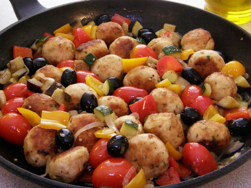 Polpete od puretine s povrćem - Fini Recepti