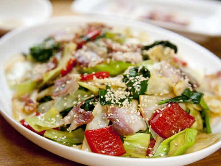 Povrće s pancetom na kineski način - Fini Recepti by Crochef