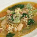 Povrtna juha s ječmom