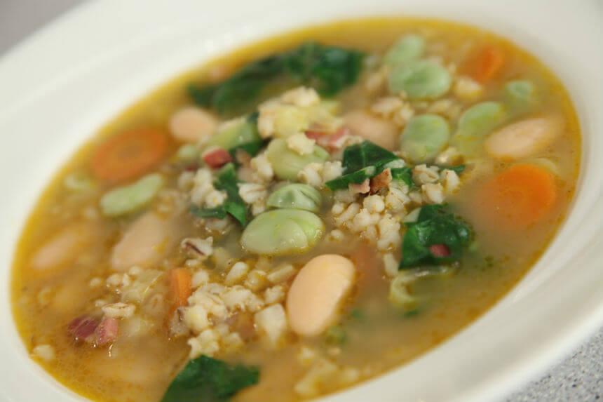 Povrtna juha s ječmom - Fini Recepti by Crochef