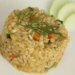 Povrtni rižoto s jabukama