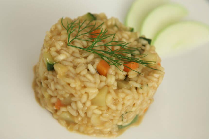 Povrtni rižoto s jabukama - Fini Recepti by Crochef