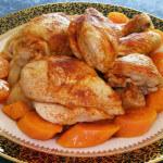 Zapržena kuhana piletina
