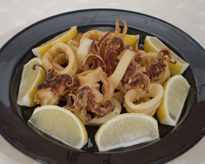 Pržene lignje - Fini Recepti