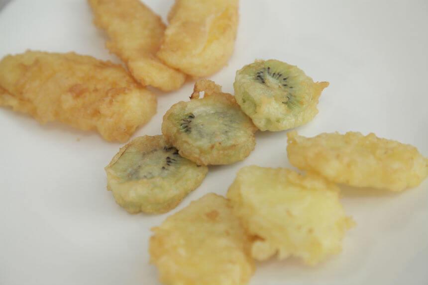 Miješano prženo voće u tempura tijestu - Fini Recepti by Crochef