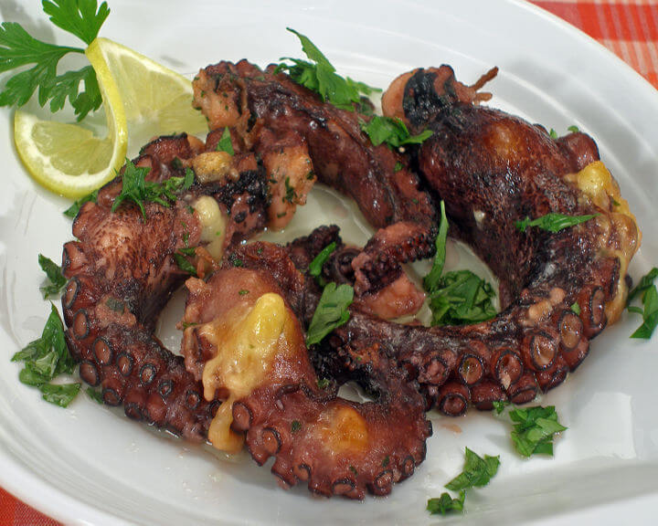 Punjena hobotnica - Fini recepti
