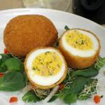Punjena pohana jaja