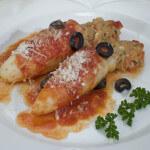 Punjene lignje u umaku od rajčica - Fini Recepti
