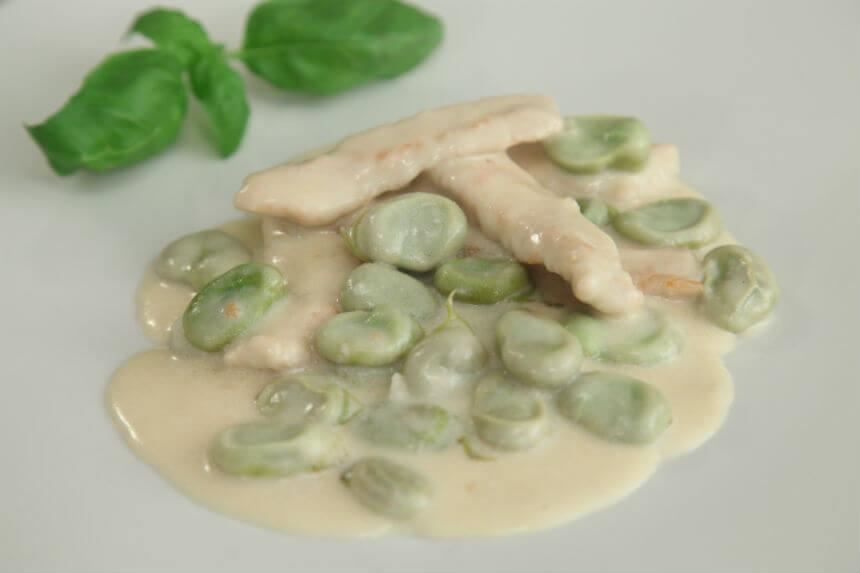 Puretina s mladim bobom - Fini Recepti by Crochef