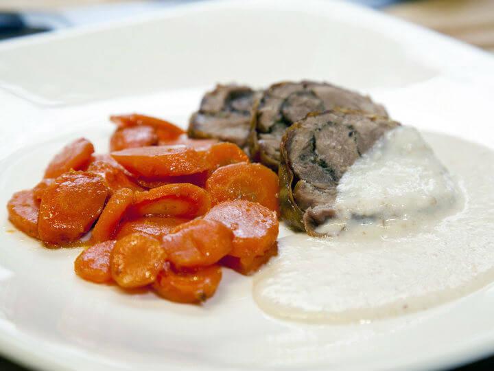 Pureći bataci iz pećnice s mrkvom i umakom od krušnih mrvica - Fini Recepti by Crochef