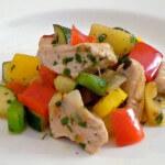 Puretina s povrćem