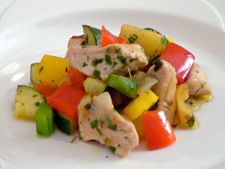 Puretina s povrćem - Fini Recepti