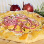 Quiche s krumpirom i topljenim sirom