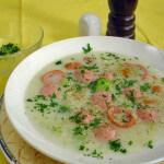Ragu juha od kobasica i povrća