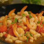 Ragu od bijelog graha i morskih kozica - Fini Recepti