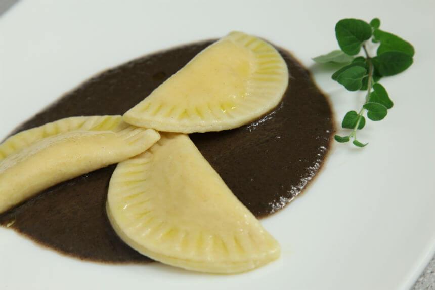 Ravioli s bundevom i svježim krem sirom - Fini Recepti by Crochef