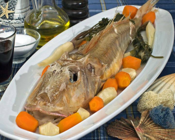 Riba kokot kuhana na pari - Fini Recepti