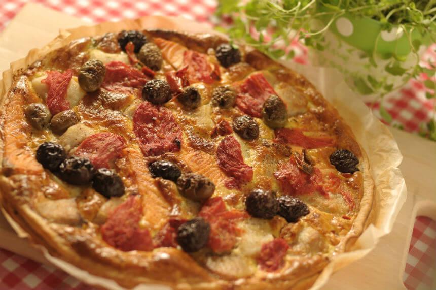 Riblji quiche - Fini Recepti by Crochef