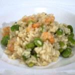 Rižoto s mladim bobom i morskim kozicama - Fini Recepti