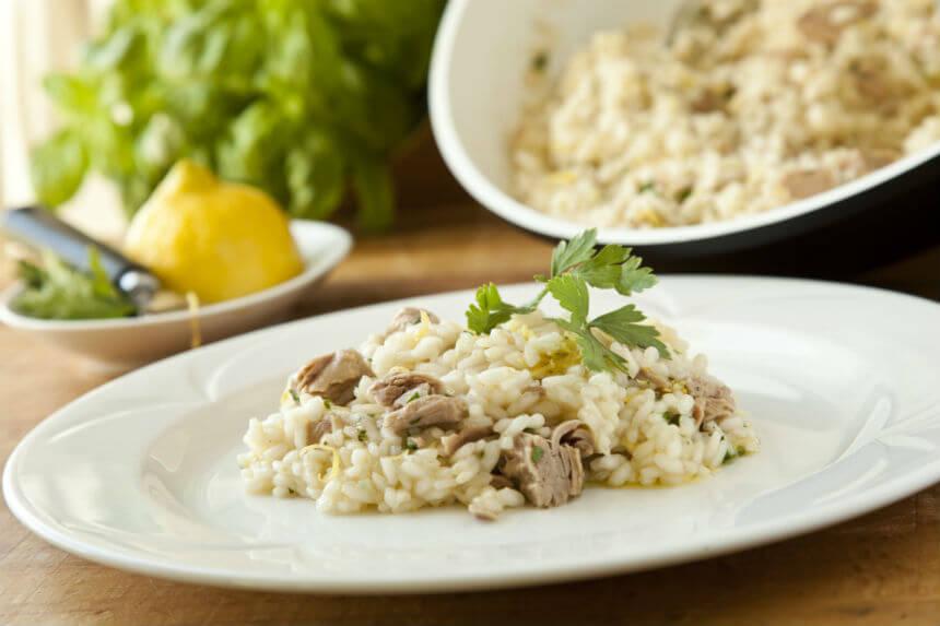 Rižoto s tunjevinom alla limone - Fini Recepti by Crochef