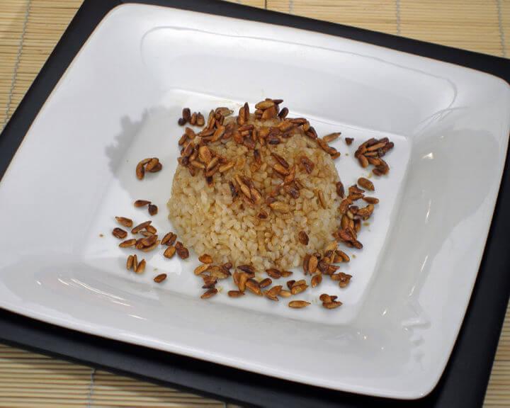 Smeđa riža sa sjemenkama - Fini Recepti