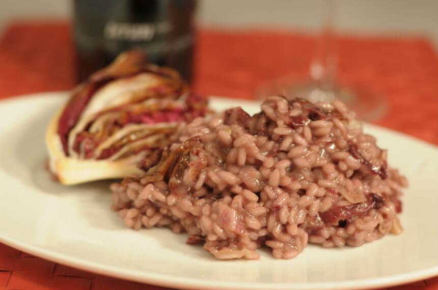 Rižoto s crvenim radičem - Fini Recepti