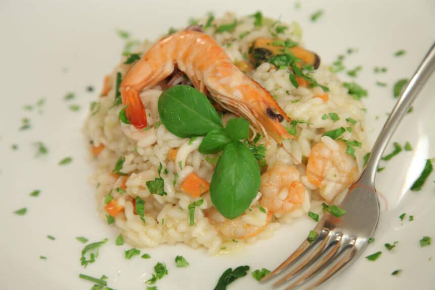 Rižoto s plodovima mora - Fini Recepti by Crochef