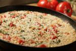 Rižoto s rajčicom i pečenom paprikom